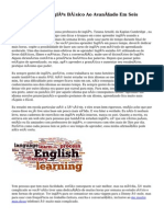 Como Aprender Inglês Básico Ao Avançado Em Seis Meses