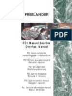 F1 Manual Gearbox Overhaul Manual ES