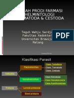 Kuliah Farmasi Trematoda +Cestoda