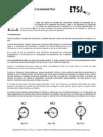 INSTRUCTIVO DE USO DE MANOMETROSInstructivo de Uso de Manometros