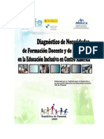 Diagnóstico de Necesidades de Formación Docente Capacitacion