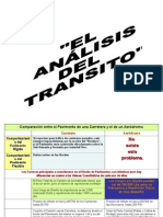 L El Analisis de Transito