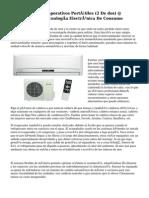 Climatizadores Evaporativos Portátiles (2 De dos) @ ElOtroLado.net Tecnología Electrónica De Consumo