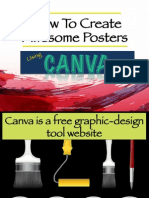 How to Create Awesome Posters Using Canva