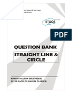 Question Bank Straight Line & Circle-392