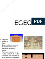 EDIFICIOS REPRESENTATIVOS DE LA EPOCA EGEO HASTA EL CRISTIANISMO