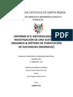 Informe Metodologia en La Investigacion