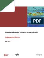 Dokumentasi Teknis Peta-Peta Bahaya Tsunami Untuk Lombok
