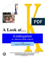 Glc Kinder Curriculum