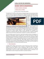 Informe de Actividades Hidrocarburiferas