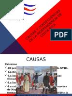 Causas y Consecuencias de La Independencia de Costa-terminado