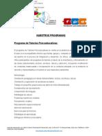 Tutorias y Reglamento 2014 - 2015