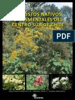 Arbustos nativos ornamentales del centro sur de chile