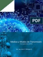 Medios y Modos de Transmisión