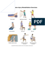 Peroneal Tendonitis Exercises
