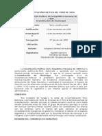 Constituciónes Políticas Del Perú