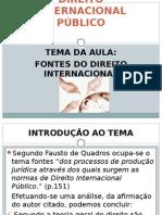DIREITO INTERNACIONAL PUBLICO FONTES.ppt