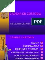 CADENA DE CUSTODIA.ppt