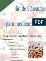 Produção de capsulas para medicamento
