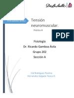 Reporte Transmisión Neuromuscular