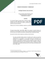 Irigoyen y González. (1997). Conducta Inteligente y Curriculum