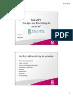 Ejemplo de Las 8 P Del Marketing de Servicios