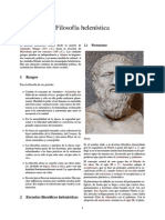 Filosofía helenística