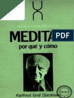 DURCKHEIM - MEDITAR, PORQUE Y COMO.pdf