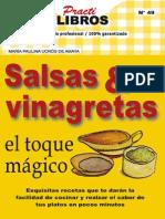 Salsas & Vinagretas El Toque Ma - Maria Paulin Aucros de Amaya-.Dd-books.com.-.
