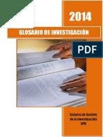 Glosario de Investigación