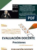 20150915 Precisiones Evaluacion Docente
