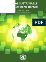 UN Global Sustainable Development Report (2015) (Advance Unedited Version)