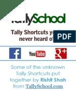 Tally Shortcuts