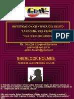 investigacion cientifica de la escena del delito