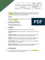 PR-SIG-04.14 Comunicacion Interna y Externa