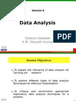 Session - 6 Statistics and Data Analysis