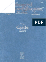 AD&D - The Castle Guide