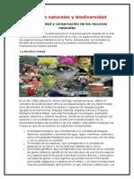 Biodiversidad y Conservación de Los Recursos Naturales