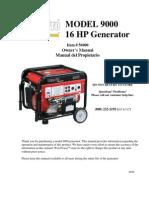 56900 Generator Manual