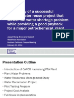 Case Study for a successfully inplanr reuse of water