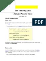 Active Passive Transformation