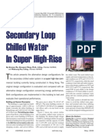 Secondary Loop Chilled Water in Super High Rise Bldg