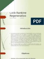 Ciclo Rankine Regenerativo ....