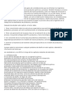 Diseño de Procesos y Productos - Cap 1 y 2