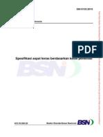 SNI 8135-2015 Spesifikasi aspal keras berdasarkan kelas penetrasi.pdf
