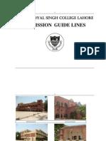 Prospectus 352115 Govt Dyal Singh College Lahore v1