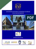 Catalogo Oferta Educariva UNAM