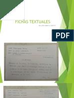 FICHAS TEXTUALES