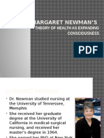 Newman's Health as Expanding Consciousness