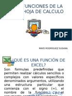 Funciones en Excel 2003